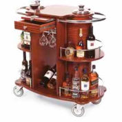 Geneva Lakeside Oval Wine & Cocktail Cart, 70260