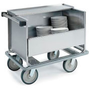 """Lakeside® 705 Closed Store N Carry Dish Truck - 66 9"""" Plates, 100 7"""" Plates"""