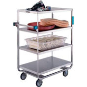 Lakeside® 761 HD Stainless Steel 4 Shelf Truck 3 Edges Up 700 Lb Cap