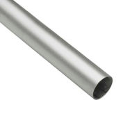 "Lavi Industries, Tube, 1"" x .050"" x 12', Satin Stainless Steel"