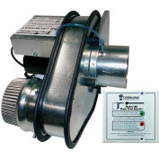 Tjernlund LB2 Dryer Duct Booster Fan DEDPV Approved