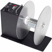 """Labelmate USA Automatic Fin Style Rewinder for Rolls Up To 6-1/2"""" Width & 12"""" Dia., 110-12V"""