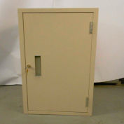 "Fenco Lowboy Teller Pedestal Cabinet 602R-A - Right Hinged Door 18""W x 19""D x 27-7/8""H Champagne"