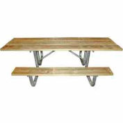8 Ft. Wooden ADA Picnic Table