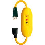 Lind Equipment 26020L-2406 Inline Gfci Quad Box, 120V/15A, 6' 12/3 Cord, W/Indicator Light