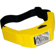 Lind Equipment Hl-X Hazardous Location Headlight. Requires 4 AA Cells