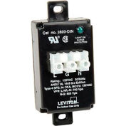 Leviton 3800-DIN DIN-Rail Mount Equipment Cabinet Surge Protection Device