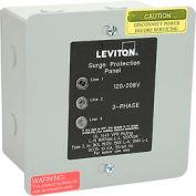 Leviton 51120-3 120/208V 3-Phase Surge Protective Panel, Residential, NEMA-1