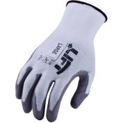 Lift Safety Cut Resistant Staryarn Polyurethane Latex Glove, Small, GSL-12WS