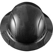 Lift Safety HDC-15KG Dax Carbon Fiber Hard Hat, 6-Point Suspension, Black