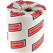 "Boardwalk 2-Ply Standard Bathroom Tissue 4"" x 3"", White 500 Sheets/Roll, 96 Rolls/Case - BWK6145"