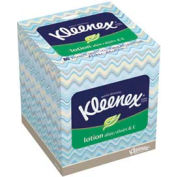 Kleenex® 2-Ply Lotion Facial Tissue Pop-Up Box, 80 Sheets/Box, 27 Boxes/Case - KIM25829