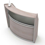 Linea Italia® Reception Desk - Ash
