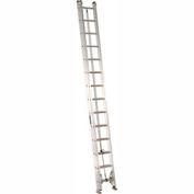 Louisville 28' Aluminum Extension Ladder - 300 Lb. Cap. - Type IA / Grade 1A - AE2228