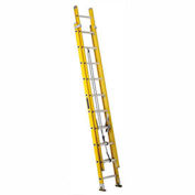 Louisville 20' Fiberglass Extension Ladder - 250 Lb. Cap. - Type I / Grade 1 - FE1720