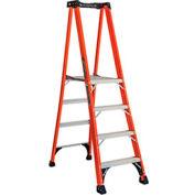 Louisville 4' en fibre de verre ProTop plate-forme Ladder - Cap 375 lb. -Tapez IAA / Grade 1AA - FXP1804HD