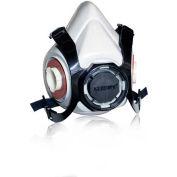 Gerson® réutilisables demi-masque respiratoire 9300, grand, 1/sac, 24 sacs/caisse