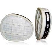 Gerson® Organic Vapor Respirator Cartridge G01, One Size, White, 2/PK, 30 Packs/Case