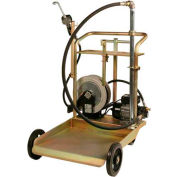 Liquidynamics 51009C-S1 Electric Oil Transfer Cart, 55 Gallon Drums W/25' Reel