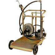 Chariot de transfert huile électrique Liquidynamics 51009C-S2, W/25 de tambours de 55 gallons ' Reel gal/min 7