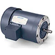 Leeson 100486.00, Standard Eff., 0.5 HP, 1725 RPM, 208-230/460V, 48CZ, TENV, C-Face Footless