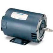 Leeson Motors 3-Phase Pump Motor 3/4HP, 3450RPM, 48, DP, 208-230/460V, 60HZ, 40C, 1.15SF, C Face