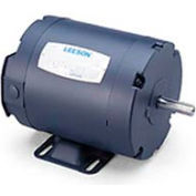 Leeson 101649.00, 0.25 HP, 1725 RPM, 208-230/460V, S56, TENV, Rigid