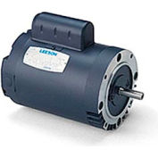 Leeson Motors - 1/2HP, 115V, 1625RPM, DP, Round Mount, 1.0 S.F.