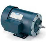Leeson Motors 3-Phase Pump Motor 1/2HP, 3450RPM, 48, DP, 208-230/460V, 60HZ, 40C, 1, 25SF, Rigid C