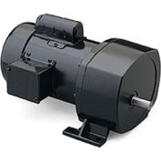 Leeson, 107014.00, 1/2 HP, 133 t/mn, 115/208-230V, 1 Phase, TEFC, P1100, 13:1 Ratio, 229 po / lb