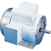 Leeson Motors Motor Washdown Motor-1/2HP, 115/208-230V, 3450RPM, TEFC, RIGID C, 1.15 SF, 63 Eff.
