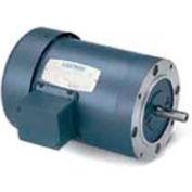 Leeson 121272.00, Standard Eff., 1 HP, 1425 RPM, 220/380/440V, 50 Hz, 143TC, IP54, C-Face Footless