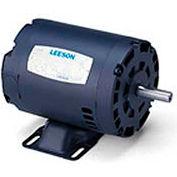 Leeson 121515.00, Premium Eff., 2 HP, 3490 RPM, 208-230/460V, 145T, DP, Rigid