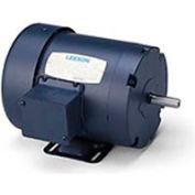 Leeson 121518.00, Premium Eff., 1.5 HP, 3490 RPM, 208-230/460V, 143T, TEFC, Rigid