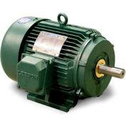 Leeson 171621.60, Premium Eff., 20 HP, 3550 RPM, 208-230/460V, 256T, TEFC, Rigid