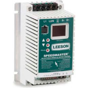 Leeson Motors AC Controls Sub-Micro Series VFD Drive , IP20, 1PH, 1HP, 110/120V