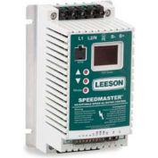 Leeson Motors AC Controls Sub-Micro Series VFD Drive , IP20, 3PH, 1HP, 400-480V