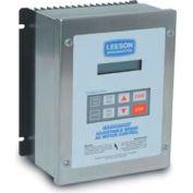 Leeson Motors AC Controls Washdown Duty Micro Series Drive VFD,NEMA 4X,3PH,15HP,480-590V