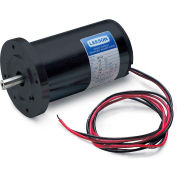 Leeson Motors Metric DC Motor-1/6HP, 24V, 3000RPM, IP44, B14