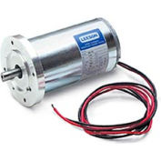 Leeson Motors Metric DC Motor-1/15HP, 12V, 3000RPM, IP44, B14