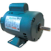Leeson E114196.00, 2HP, 3490RPM, 56H DP 230/460V, 3PH 60HZ Cont. 40C 1.15SF, Resilient Base, T-Stat