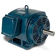 Leeson Motor-75HP, 208-230/460V, 3565RPM, DP, Rigid Mount, 1.25 SF, 93 Eff.