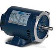 Leeson 171688.60, Premium Eff., 25 HP, 3540 RPM, 208-230/460V, 256TC, DP, C-Face Rigid