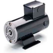 Leeson Motors DC Motor IEC Metric .06KW, 3000RPM, 56D, IP54, 180V, S1, 40C, 1.0SF, B14, , 980, 542A
