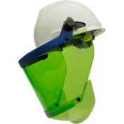 Paulson AmpShield® Kit for Slotted Cap, ATPV 10 cals, Green, Premium Anti-Fog Coating, AMP1-10