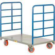 Little Giant® Double End Rack Platform Truck DR-2448-6PY - 48 x 24 3600 Lb. Capacity