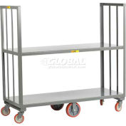 Little Giant® 2 Shelf High-End Platform Truck HE2-2448 - 48 x 24 2000 Lb. Capacity