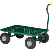 Little Giant® Nursery Wagon LWP-2436-10-G Perforated Steel - 36 x 24 Deck 1200 Lb. Cap.