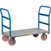 Little Giant® Double Handle Platform Truck NBB-3048-6MR-2H - 48 x 30 2000 Lb. Cap.