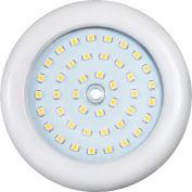 "Luminance F9903-30 3 1/2"" LED Slim Puck Light White W/Clear Acrylic Lens 3W 24 Volts 240 LM 3000K"